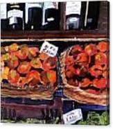 Italian Market Canvas Print