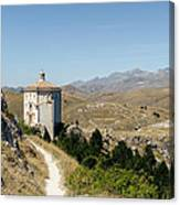In That Quiet Earth - An Italian Landscape  Canvas Print