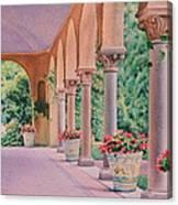 Italian Pavilion Canvas Print