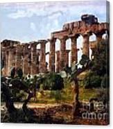 Italian Ruins 1 Canvas Print
