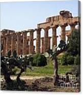 Italian Ruins Canvas Print