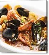 Italian Seafood Stew Canvas Print
