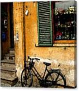 Italian Sidewalk Canvas Print