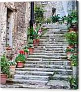 Italian Stairway Canvas Print