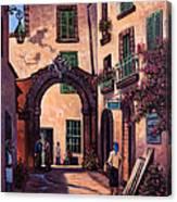 Italian Street Canvas Print