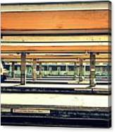 Italian Train Station Canvas Print