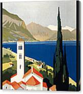 Italian Travel Poster, C1930 Canvas Print
