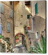 Italien Gasse Canvas Print