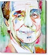 Italo Calvino Canvas Print