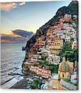 Italy, Amalfi Coast, Positano Canvas Print