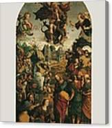 Italy, Marche, Pesaro-urbino, Fano Canvas Print