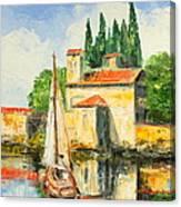 Italy - San Vigilio Canvas Print