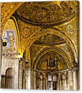Italy - St Marks Basiclica Venice Canvas Print