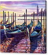 Italy Venice Early Mornings Canvas Print