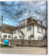Itchenor Harbour Office Hdr Canvas Print