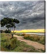 Itchenor West Sussex Hdr Canvas Print
