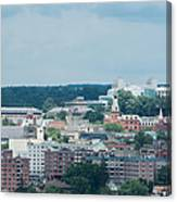 Ithaca New York And Cornell University Canvas Print