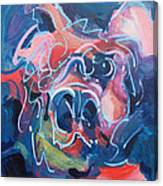 It's A Doggy Dog World Canvas Print