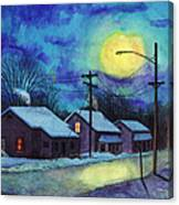 Its Cold Outside. Canvas Print