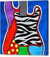 It's Electric Acrylic By Diana Sainz Canvas Print