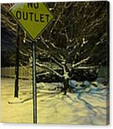 I've Tried To See The Warnings Canvas Print