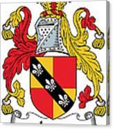 Ivers Coat Of Arms II Irish Canvas Print