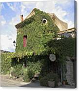 Ivy Covered Cottage Canvas Print