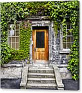 Ivy Covered Doorway - Trinity College Dublin Ireland Canvas Print