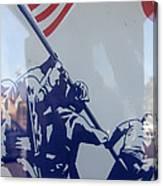 Iwo Jima Flag Raising Design Arizona City Arizona 2004 Canvas Print