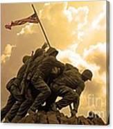 Iwo Jima Memorialized Canvas Print