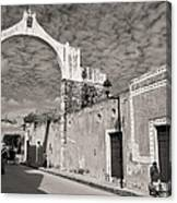 Izamal Arch Canvas Print