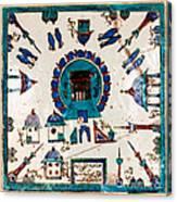 Iznik Kaaba Canvas Print