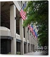 J Edgar Hioover Fbi Building Canvas Print