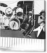 J. Geils Band In Oakland 1976 Canvas Print