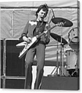 J. Geils In Oakland 1976 Canvas Print
