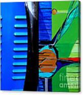 j HOT 35 Canvas Print