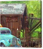 J. R. Hewlet Mining Co. Canvas Print