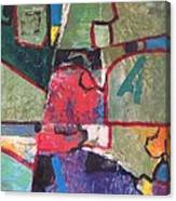 Ja Three Canvas Print