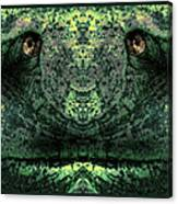 Jabba Green Canvas Print