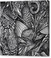 Jabberwocky Canvas Print