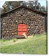 Jack London Stallion Barn 5d22101 Canvas Print