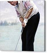 Jack Nicklaus Canvas Print