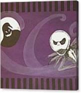 Jack Skellington With The Oggie Boogie Floor Cloth 2012 Canvas Print
