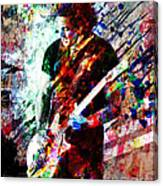 Jack White Original Painting Print Canvas Print