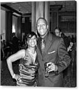 Jackie And James Party 75 Canvas Print