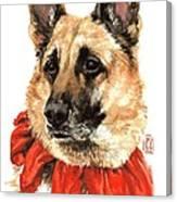 Jackie Canvas Print