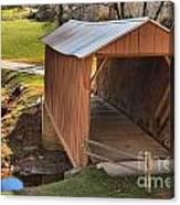 Jacks Creek Historic Bridge Canvas Print