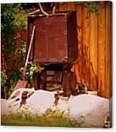 Jacks Mining Cart Canvas Print