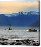 Jackson Bay South Westland New Zealand Canvas Print