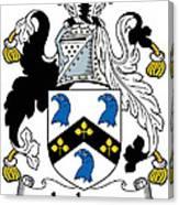 Jackson Coat Of Arms Mayo Ireland Canvas Print